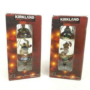 Lof of Kirkland Signature Christmas Snowglobe Bear